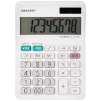 Mini calculatrice de bureau professionnelle à 8 chiffres Sharp