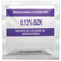 SAFECROSS Benzalkonium Chloride (BZK) Antiseptic Towelettes, 5