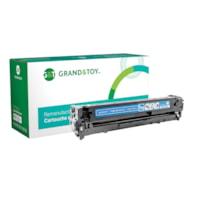 Grand & Toy Remanufactured HP 128A Cyan Standard Yield Toner Cartridge (CE321A)