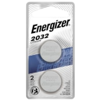 Energizer 2032 Lithium Coin Batteries, 2/PK