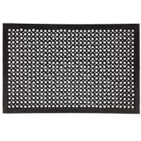 FloorTex Anti-Fatigue Open Top Mat, Black, 32