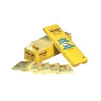 Feuillets Post-it, jaune canari, 3 po x 3 po, emb. de 24 blocs (2 160 feuillets)