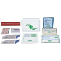 SAFECROSS Alberta Type P First Aid Kit, 10 Unit, Wall Mountable