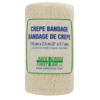 Bandage de crêpe en rouleau