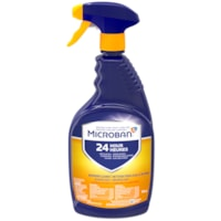 Microban 24 Hour Bathroom Cleaner, Citrus Scent, 946 mL