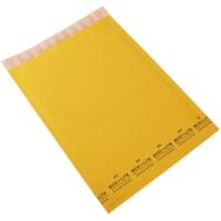 Enveloppes à bulles en papier kraft à bande autocollante 9 1/4 po x 13 1/2 po Ecolite PolyAir, nº 4, caisse de 100