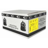 Sacs à ordures Eco II Manufacturing Inc., transparent, régulier, 35 po x 47 po, caisse de 200