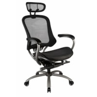 TygerClaw Professional Air Grid High-Back Office Chair with Adjustable Headrest