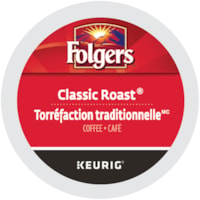 Folgers Single-Serve Coffee K-Cup Pods, Classic Roast, 24/BX