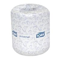 Tork 2-Ply Universal Bathroom Tissue, White, 500 Sheets/RL, 48/CT