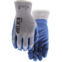 Gants en latex de caoutchouc Blue Chip Watson Gloves, grand, bleu