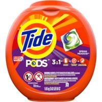 Détergent à lessive Tide PODS, parfum Spring Meadow, 72 brassées