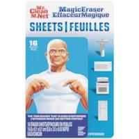 Mr. Clean Magic Eraser Sheets, 16 Sheets per Pack