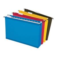 Pendaflex SureHook Reinforced Extra Capacity Hanging File Folders, Legal Size, 3 1/2