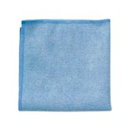 Rubbermaid Commercial Light Duty Microfibre Cloth, Blue, 12