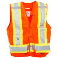 Viking Bright Orange Large Surveyor Safety Vest