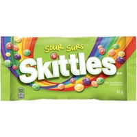 Skittles Sour Flavour Chewy Candies, 51 g, 24/BX