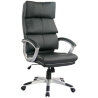 TygerClaw Modern High-Back Office Chair with Integrated Headrest