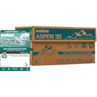 Boise Aspen 30 Multi-Use Recycled Copy Paper, 20 lb., Letter-Size, 500 Sheets/PK