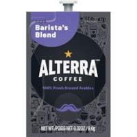 Flavia Alterra Single-Serve Coffee Freshpacks, Barista's Blend, Dark Roast, 100/CT
