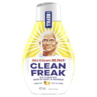 Recharge de bruine nettoyante en profondeur multisurfaces M. Net Clean Freak, zeste de citron, 473 ml