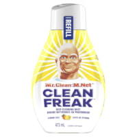 Mr. Clean Clean Freak Deep Cleaning Mist Multi-Surface Cleaner Refill, Lemon Zest Scent, 473 mL