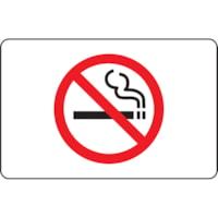 Enseigne avec pictogramme Défense de fumer Safety Media