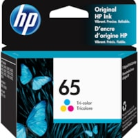 HP 65 Tri-Colour Standard Yield Ink Cartridge (N9K01AN)