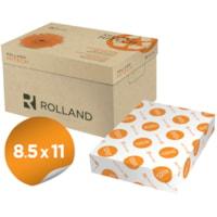 Rolland Hitech Laser Cover Paper, White, Letter Size, Ream
