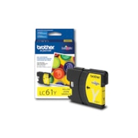 Brother LC61 Yellow Standard Yield Ink Cartridge (LC61YS)
