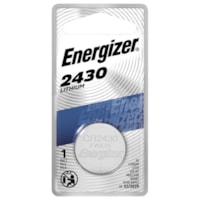 Energizer 2430 Lithium Coin Battery, 1/PK