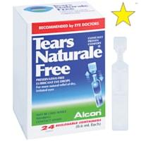 Gouttes lubrifiantes pour les yeux sans agents de conservation Tears Naturale Free Alcon