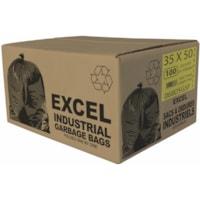 Sacs à ordures Eco II Manufacturing Inc., vert, ultrarobuste, 35 po x 50 po, caisse de 100