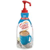 Nestlé Coffee-Mate Liquid Creamer, Pump-Action Bottle, French Vanilla, 1.5 L, 2/CS