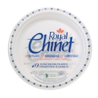 Royal Chinet Plates