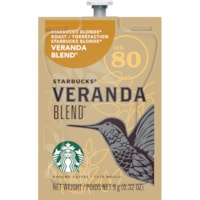 Flavia Starbucks Single-Serve Coffee Freshpacks, Veranda Blend, 80/CT