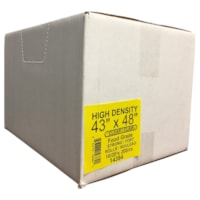 Sacs à ordures transparents robustes 43 po x 48 po Eco II Manufacturing Inc.