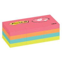Post-it Original Notes in Cape Town Colour Collection, Unlined, 1 1/2