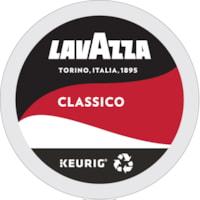 LavAzza Coffee Single-Serve K-Cup Pods, Classico, Medium Roast, 24/BX