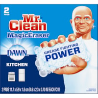 Mr. Clean Magic Eraser Kitchen and Dish Scrubber, Pack of 2