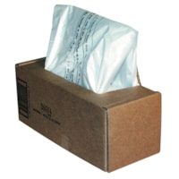 Fellowes Powershred Waste Bags for 125 and 225 Series Shredders, Clear, 50/CT