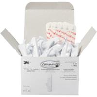 Command Adhesive Utility Hooks Cabinet Pack, 3 lb Capacity, 37 hooks/48 strips