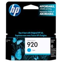 HP 920 Cyan Standard Yield Ink Cartridge (CH634AN)