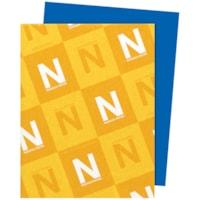 Papier Astrobrights Neenah, bleu décollage, format lettre, certifié FSC et Green Seal, 24 lb, rame
