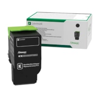 Lexmark Black High Yield Return Program Toner Cartridge (C231HK0)