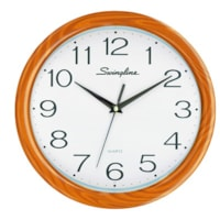 Swingline Fashion Clock, Brown