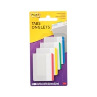 Post-it Durable Filing Tabs with Assorted Primary Colour Bars, 2