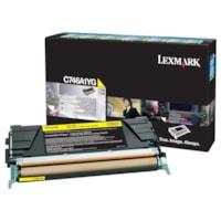 Cartouche de toner à rendement standard Lexmark C746, C748 Programme de retour (C746A1YG), jaune
