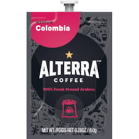 Flavia Alterra Single-Serve Coffee Freshpacks, Colombia, Medium Roast, 100/CT