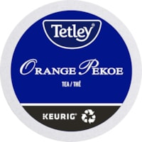Tetley Tea Single-Serve K-Cup Pods, Orange Pekoe, 24/BX